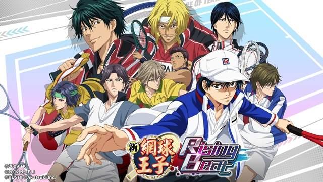 【蜗牛娱乐】中文版手游《新网球王子RisingBeat》  高度还原《网球王子》令人玩家兴奋