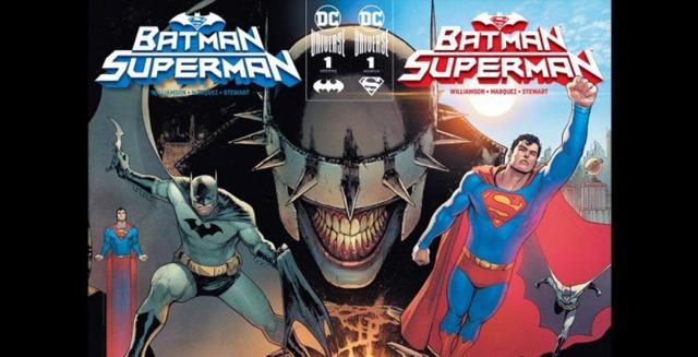【蜗牛娱乐】蝙蝠侠与超人合作漫画《Batman/Superman》 携手对抗大笑蝙蝠侠