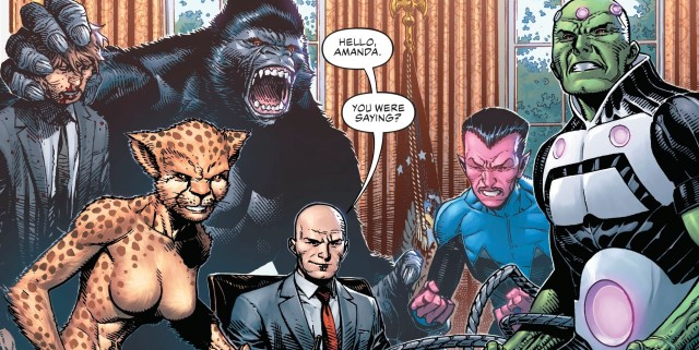 【蜗牛娱乐】DC漫画《DC恶棍年》连载雷克斯侵占白宫会抛弃私人恩怨