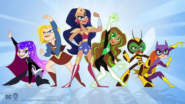 【蜗牛娱乐】重启版《DC超级英雄少女》 超能力女孩爆笑来袭