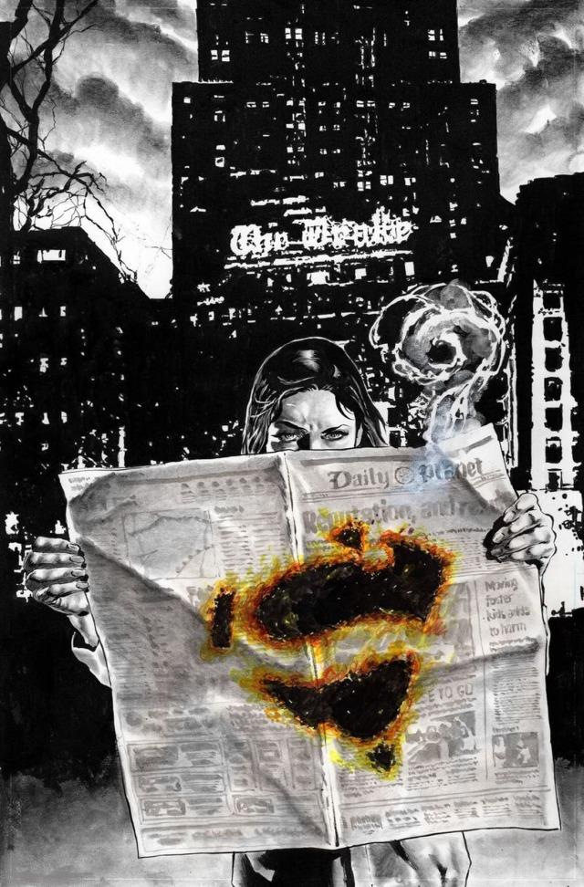 【蜗牛娱乐】DC记者主题故事漫画7月发行 探讨超级英雄宇宙的新闻正义