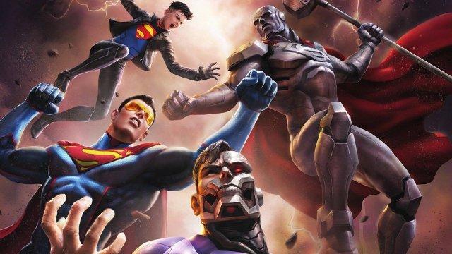 【蜗牛娱乐】DC最新动画电影《超人王朝》 神祕生化超人与达克赛达合作
