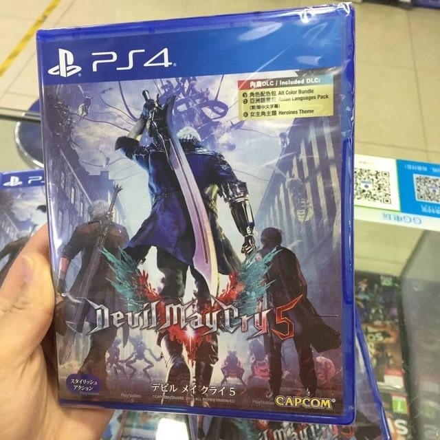 【蜗牛娱乐】动作游戏《鬼泣5》上市 《恶魔猎人5》有中文版吗