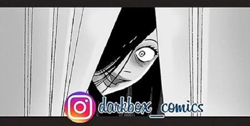 【蜗牛娱乐】恐怖黑白漫画鬼故事 无声漫画令人毛骨悚然