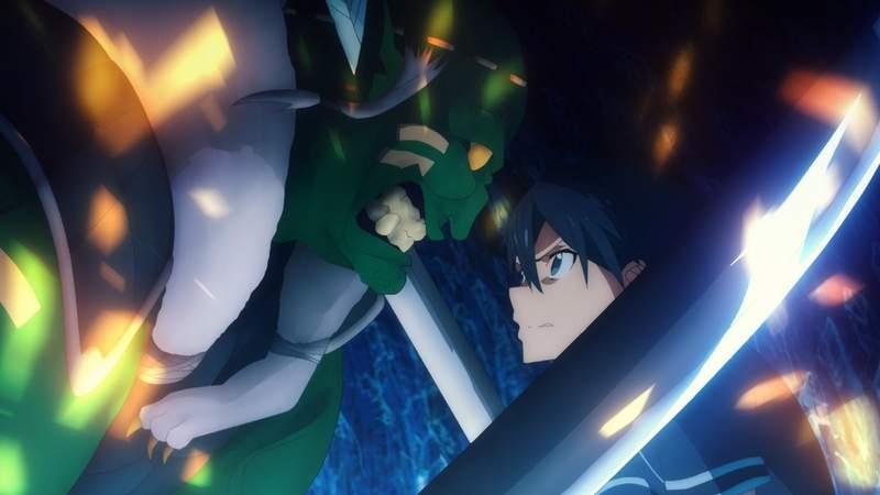 【蜗牛娱乐】10月新番《刀剑神域Alicization篇》第4话 桐人被哥布林打到无法起身