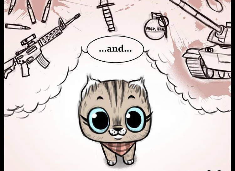 【蜗牛娱乐】动物漫画《退役军犬与小猫咪》最新故事 布鲁托为猫咪操碎了心