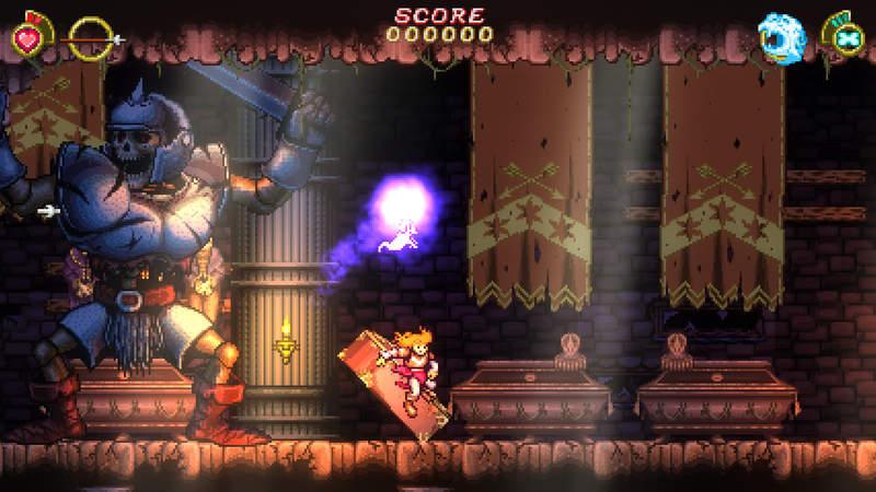 【蜗牛娱乐】好玩的动作游戏《Battle Princess Madelyn》 游戏背后的故事令游戏宅羡慕