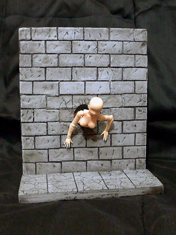 【蜗牛娱乐】穿孔墙壁模型 游戏情境模型令人玩家们兴奋