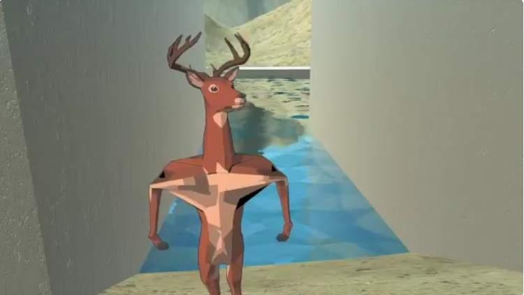 【蜗牛娱乐】疯狂手游《非常普通的鹿游戏》 鹿游戏冲击画面一点都不普通