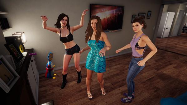 成人YouTuber加入《家庭派对》!可以和女神嘿嘿嘿了!