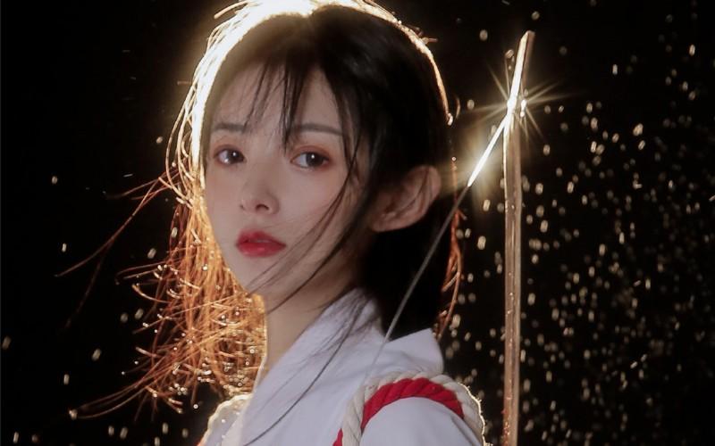 【蜗牛娱乐】日系和服弓道少女高清桌面壁纸