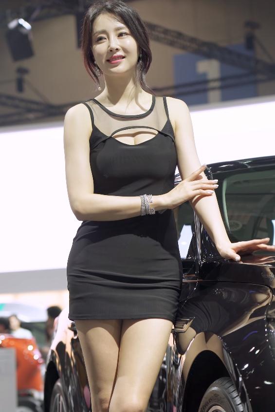 韩国车模은빈EunBin(恩彬)车展性感饭拍20200308